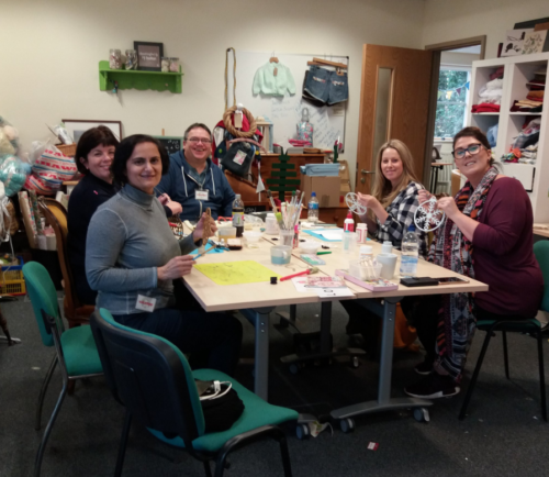 Crafting for Ty Hafan Charity